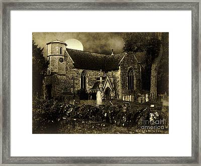 Not A Creature Was Stirring Framed Print by RC DeWinter
