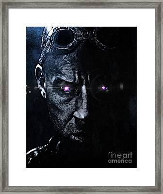 Not Afraid Of The Dark Are You? Framed Print by The DigArtisT