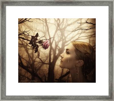 Not All Is Lost Framed Print by Jennifer Gelinas