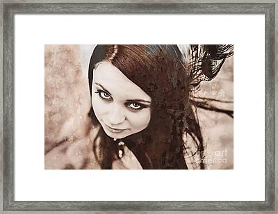 Not All Wounds Framed Print