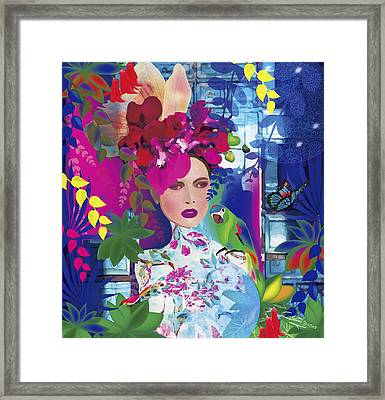 Not Always So Blue - Limited Edition 2 Of 20 Framed Print