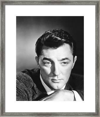 Not As A Stranger, Robert Mitchum, 1955 Framed Print