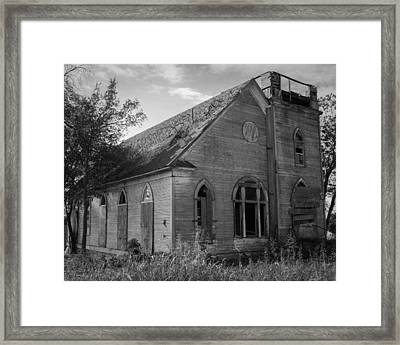 Not Bound By A Building Framed Print