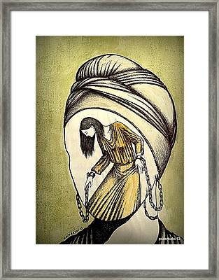 Not Disappeared From The Eyes And The Soul Framed Print