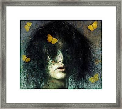 Not Even Butterflies... Framed Print by Gun Legler