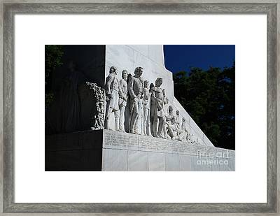 Not Forgetting Framed Print