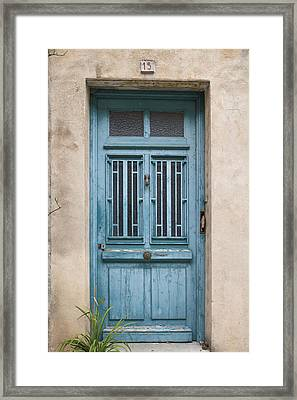 Not Just Another French Door Framed Print