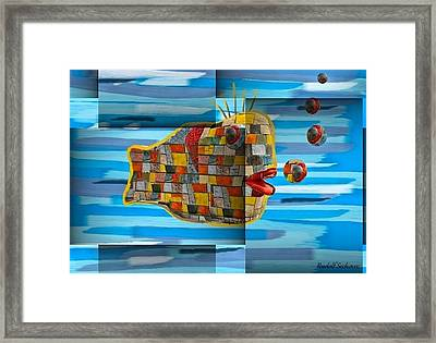 Not Made In China Framed Print by Rudolf Sechovec
