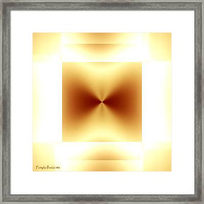 Not Malevich. 2013 80/80 Cm.  Framed Print by Tautvydas Davainis