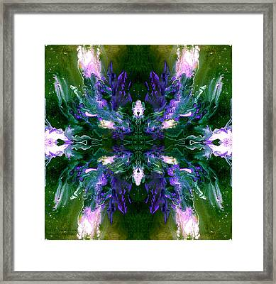 Framed Print featuring the photograph Not Of This Universe by Robert Kernodle