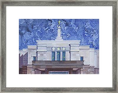 Not Of This World Framed Print by Jane Autry