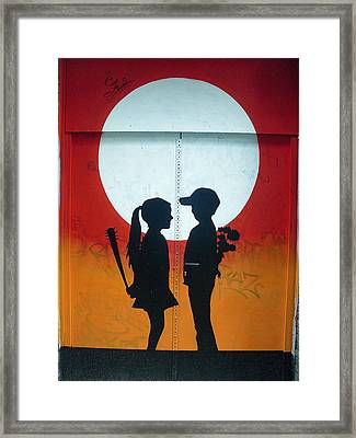 Not Quite Love Framed Print by Mike Podhorzer