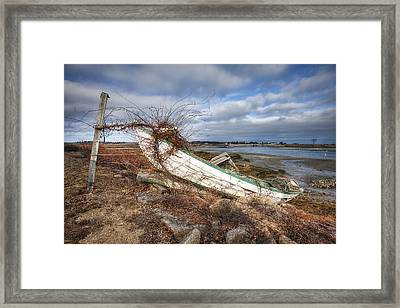 Not Seaworthy Framed Print by Eric Gendron