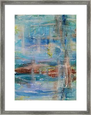 Not So Still Waters Framed Print
