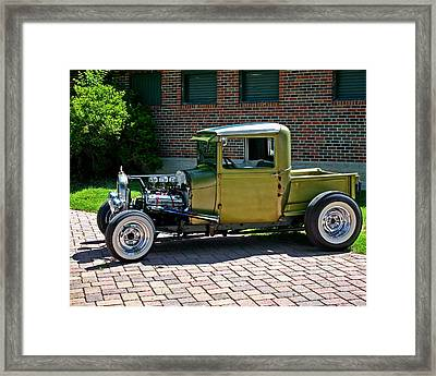 Framed Print featuring the photograph Not So Typical Pick-up by Christopher McKenzie