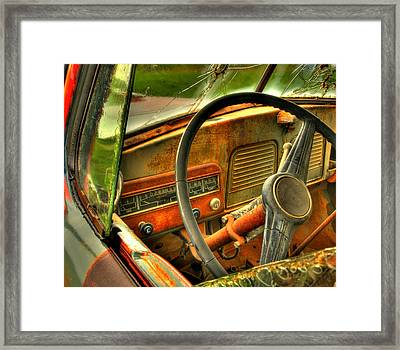 Not Speeding Framed Print by Thomas Young