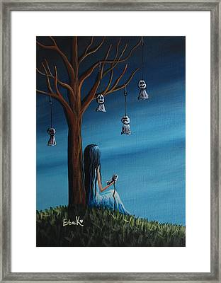 Not Such A Lonely Place After All Original Art Framed Print by Shawna Erback