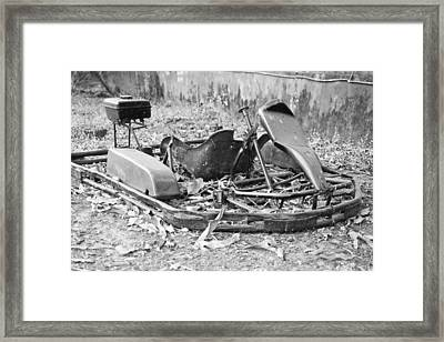 Not The Fastest Kart In The East Framed Print by Kantilal Patel