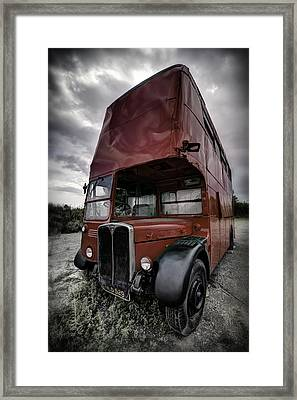 Framed Print featuring the photograph Not The Nine To Five...but... by Russell Styles