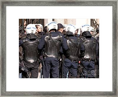 Not The Ninja Turtles Framed Print by Rick Piper Photography