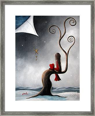 Not The Same Without You By Shawna Erback Framed Print