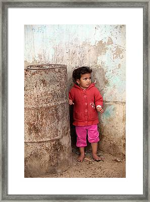 Not Too Sure Yet Framed Print