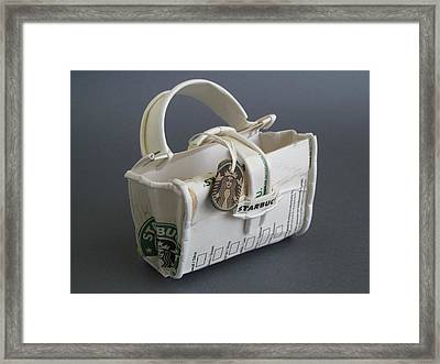 not your LV bag Framed Print by Alfred Ng