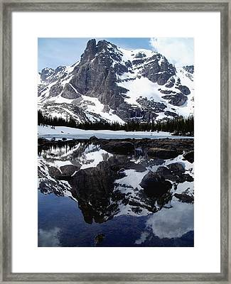 Notchtop Reflection Framed Print