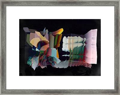 Note To Self Framed Print by Panda Gunda