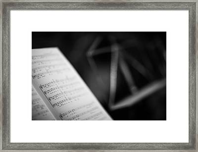 Notes Framed Print by Ralf Kaiser