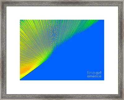 Nothern Lights Framed Print by Ausra Huntington nee Paulauskaite