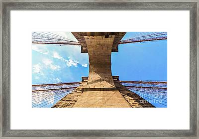 Nothin But Blue Skies Brooklyn Framed Print