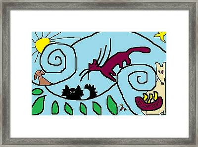 Nothing But Blue Skies Framed Print by Anita Dale Livaditis