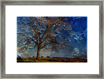 Nothing But Blue Skies Framed Print by Jan Amiss Photography