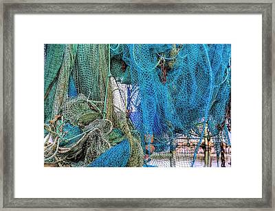 Nothing But Net Framed Print by JC Findley