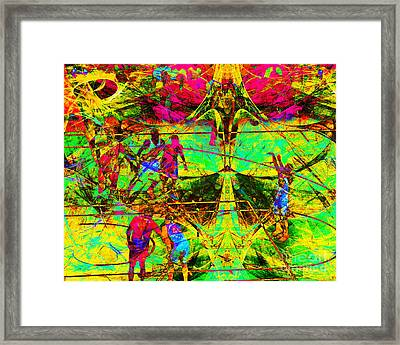 Nothing But Net The Free Throw 20150310 Framed Print by Wingsdomain Art and Photography