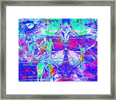 Nothing But Net The Free Throw 20150310inv Framed Print by Wingsdomain Art and Photography