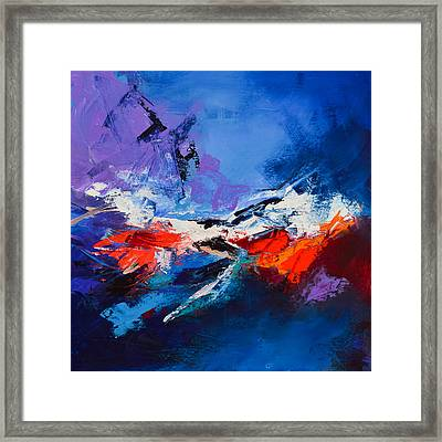 Nothing Else Matters Framed Print by Elise Palmigiani