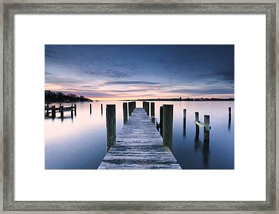 Nothing Gold Will Stay Framed Print