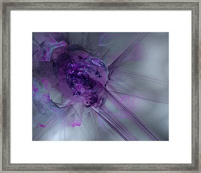 Nothing Is Done Without Effort Framed Print