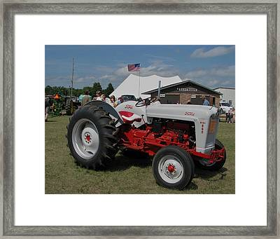 Nothing Like A Ford Framed Print by Victoria Sheldon