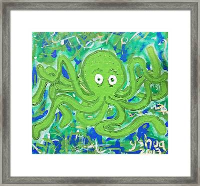 Nothing Out Of The Ordinary Framed Print by Yshua The Painter