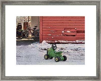 Nothing Runs Like A Deere #4 Framed Print by Nikolyn McDonald