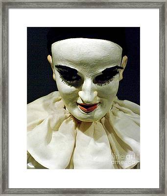 Framed Print featuring the photograph Nothing To Say - Limited Edition by Newel Hunter