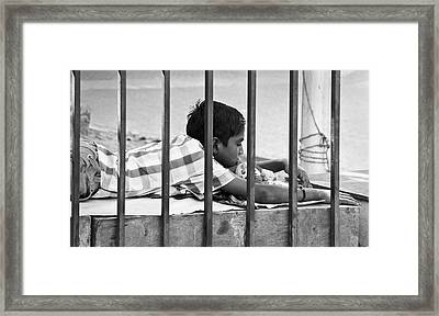 Nothings Going To Change My World Its Like A Framed Print by Kantilal Patel