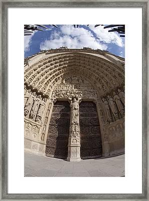 Notre Dame 4 Framed Print by Art Ferrier