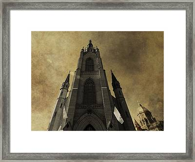 Notre Dame Basilica Framed Print by Dan Sproul