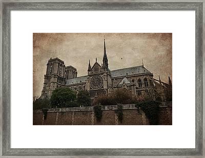 Notre Dame Cathedral - Paris Framed Print