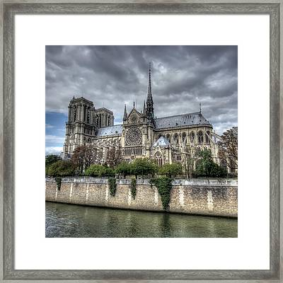 Notre Dame Cathedral Framed Print by Ioan Panaite
