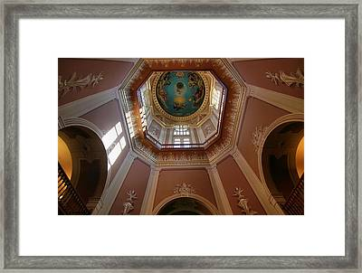 Notre Dame Ceiling Framed Print by Dan Sproul
